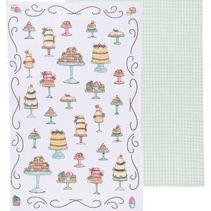 Now Designs Just Desserts Tea Towels Set/2 NWT